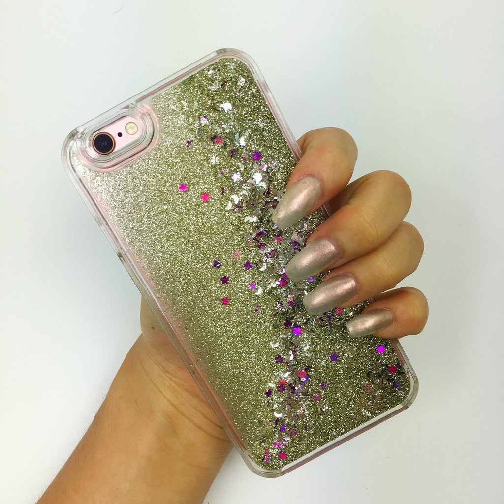 Sparkle Nature Fall iPhone Case