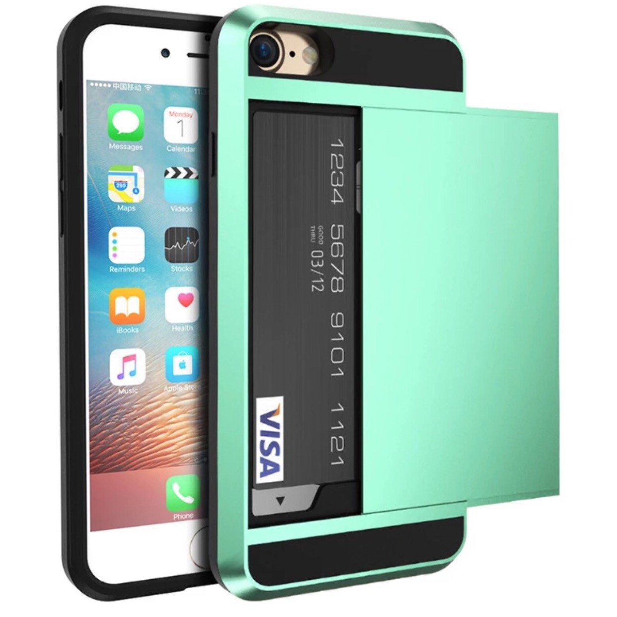 Iphone case with card holder best mobile phone 2017 cool business card holder case for le iphone x 8 6 6s 7 plus magicingreecefo Images