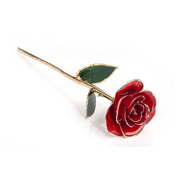 Real Rose Dipped in 24 Karat Gold