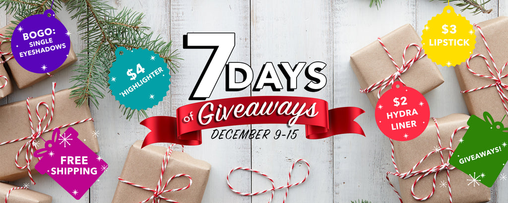 7 Days of Giveaways!