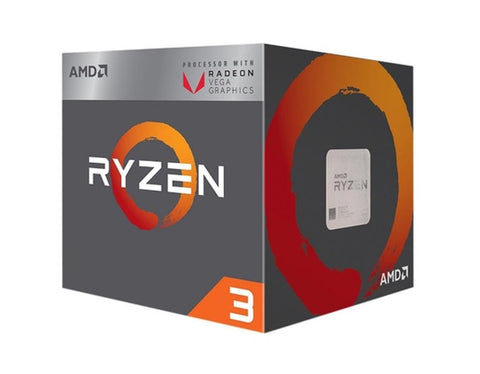 AMD Ryzen 3 2200G 3.5Ghz 4Core Processor Socket AM4 PGA1331 with VEGA Graphics