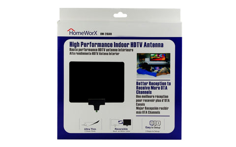 HomeWorx High Performance InDoor HDTV Antenna