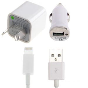 3 In 1 Charger For iPhone 5/iTouch