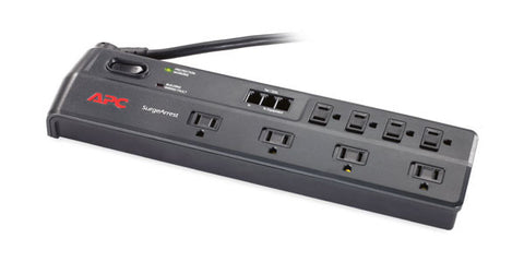 APC Home/Office MDL P8T3/6'/8 Outlets Surge Protection Bar