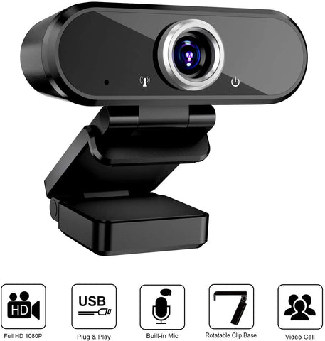 1080pHD Webcam with MIC