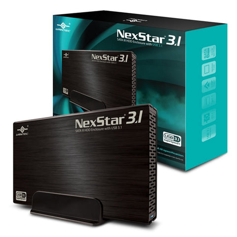 "Nexstar 3.1 3.5"" SATA 6GB/S to USB3.1 GEN II Type-A SSD/HDD Enclosure"
