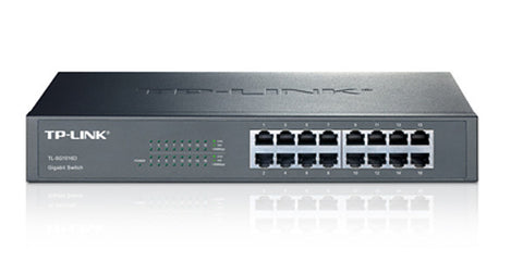 TP-Link 16-Port Desktop/Rackmount Gigabit 10/100/1000 Green Switch