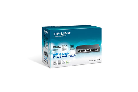 TP-Link 8 Port Gigabit Desktop Switch (METAL CASE) TL-SG108