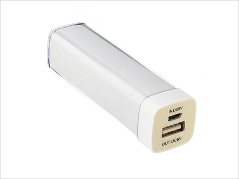 2600Mah Power Bank for Mobile Phone/Camera/Mp3 Players/Mp4 Players