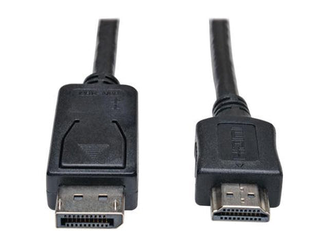 6' Display Port to HDMI Cable (M-F)