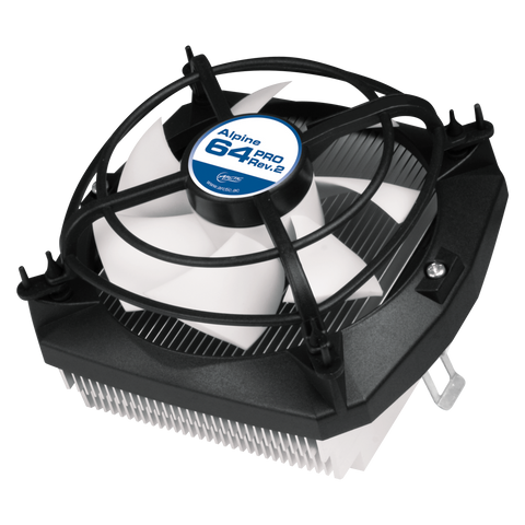 Artic Cooling Alpine 64 Pro Ultra Quiet Cooling Solution For AMD CPUs FM2/Fm1/AM3+/AM3/AM2+/Am2/939