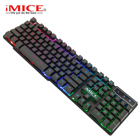 iMice AK-600 3-Color Backlit USB Keyboardl
