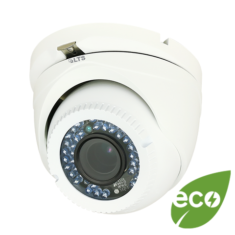 Full HD -TVI Camera 3MP 1080p 2.8mm DV12V (WHITE) MDL T319W