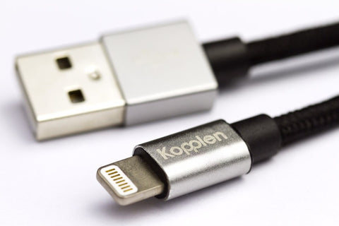 "Kopplen 6"" Lighting to USB Cable (Apple MFi Certified)"