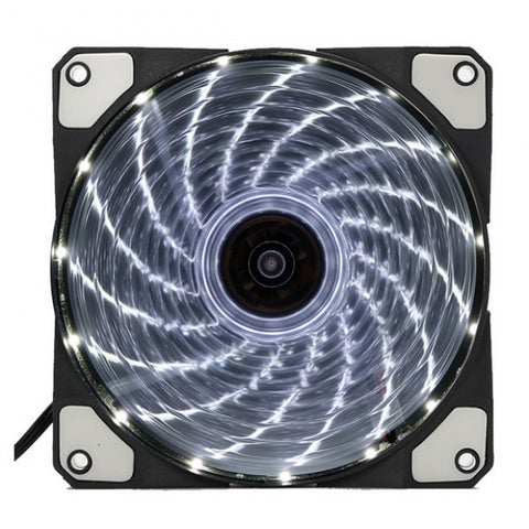 Kopplen 120mm 15LED Case FAN (WHITE)