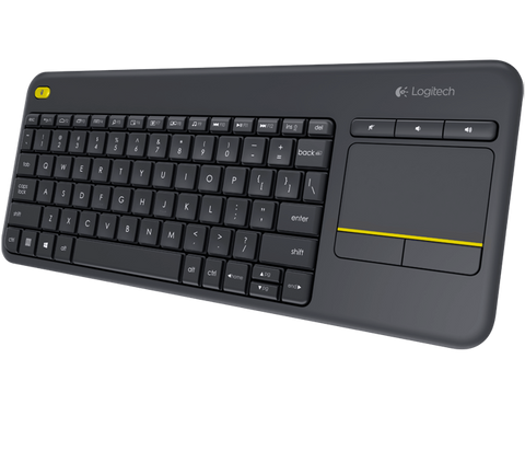 Logitech K400 Plus Wireless Keyboard with Touch Pad