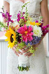 Spring Flower Bride Bouquet