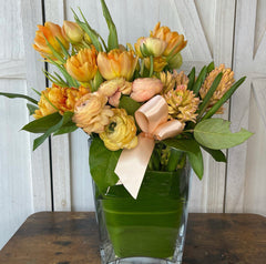 Golden Double Tulips, Ridonculous, and Hyacinth Flowers