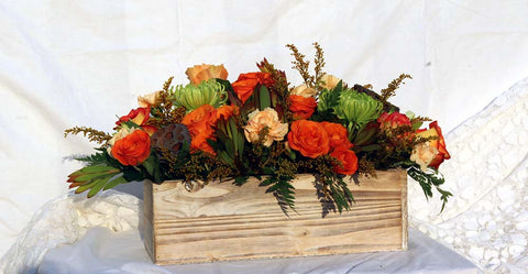 Photo of Fall Fiesta Flower Arrangement