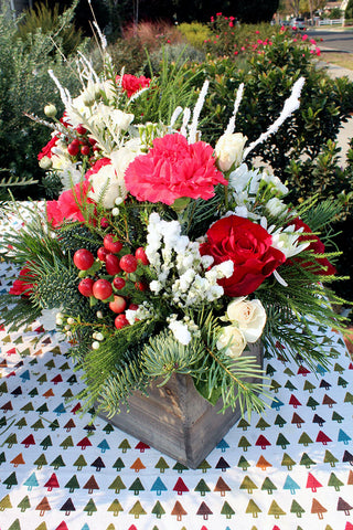 Mini Winter Wonderland - Lia's Floral Designs