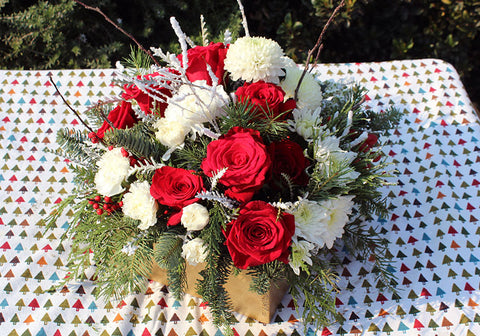 Winter Wonderland Flowers - Lia's Floral Designs