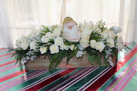 White Christmas - Lia's Floral Designs
