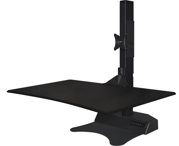 "(stock back in Nov) 31.3"" x 20.8"" Electric Standing Desk Converter FREEMAXDESK EDOD-180"