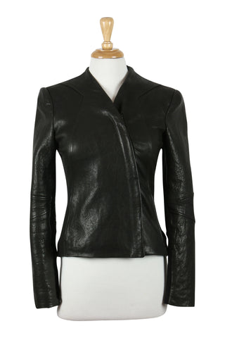 Helmut Lang Blister Leather Jacket