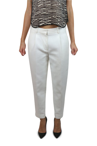 Phillip Lim White Cotton Trousers