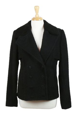 Alexander Wang - Black double breasted jacket