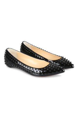 Christian Louboutin Pigalle Spikes in black patent