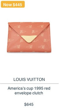 Louis Vuitton America's Cup Clutch