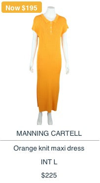 Manning Cartel Dress