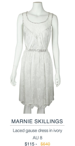 Marnie Skillings Ivory dress