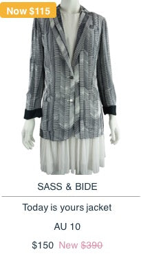 Sass & Bide Today is Yours Jacket