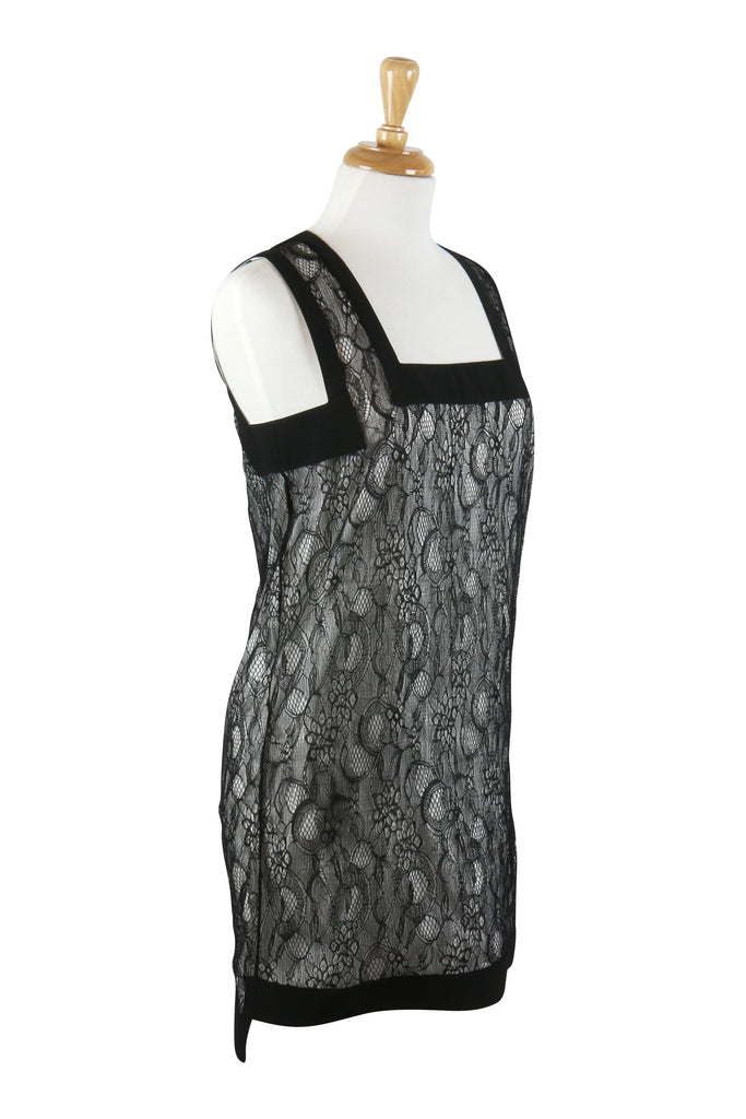 Givenchy Black lace mini dress