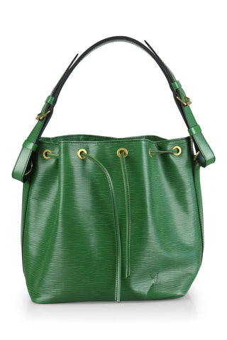 Noe bucket bag (26cm) in green