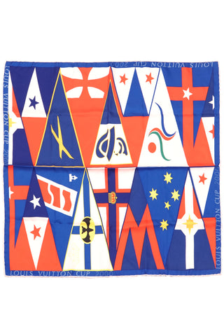 America's cup 2000 silk scarf