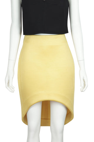 Cut away yellow scuba skirt