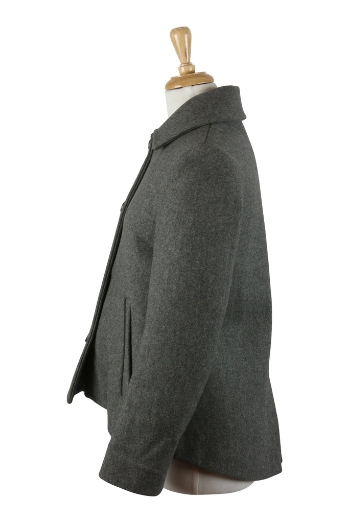 Derek Lam Grey woollen swing jacket