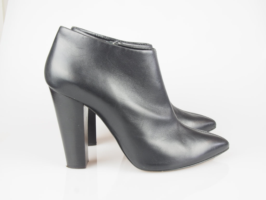 Giuseppe Zanotti Black leather shoe-boots