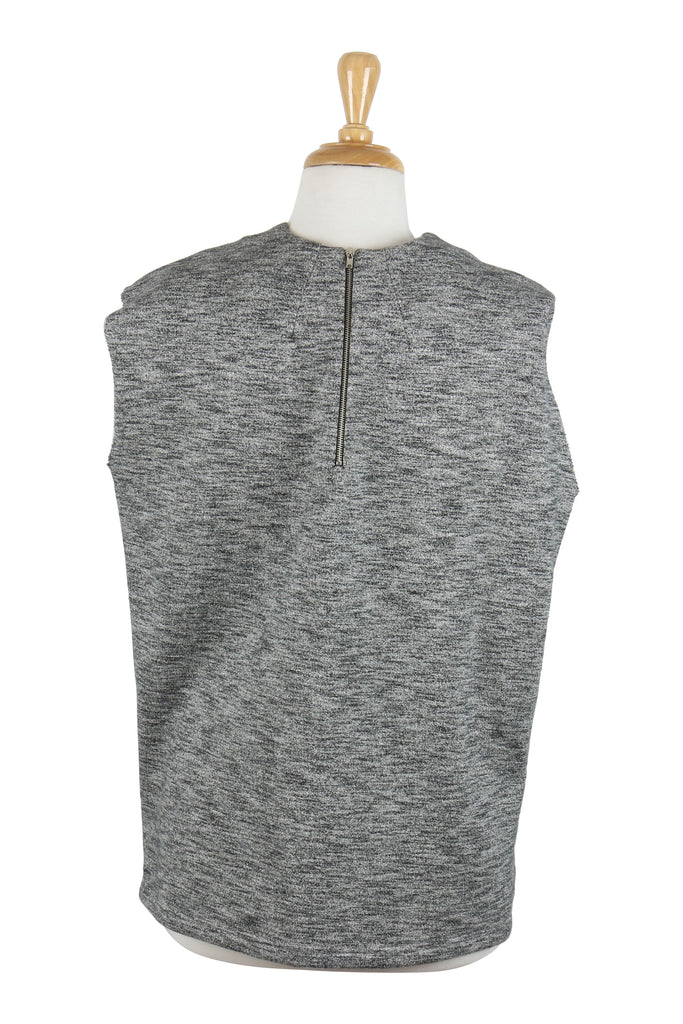 Christopher Esber Sleeveless grey cotton top