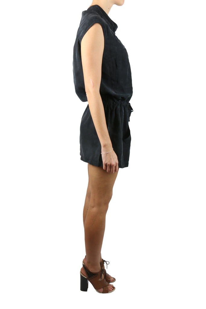 IRO Short black zip dress