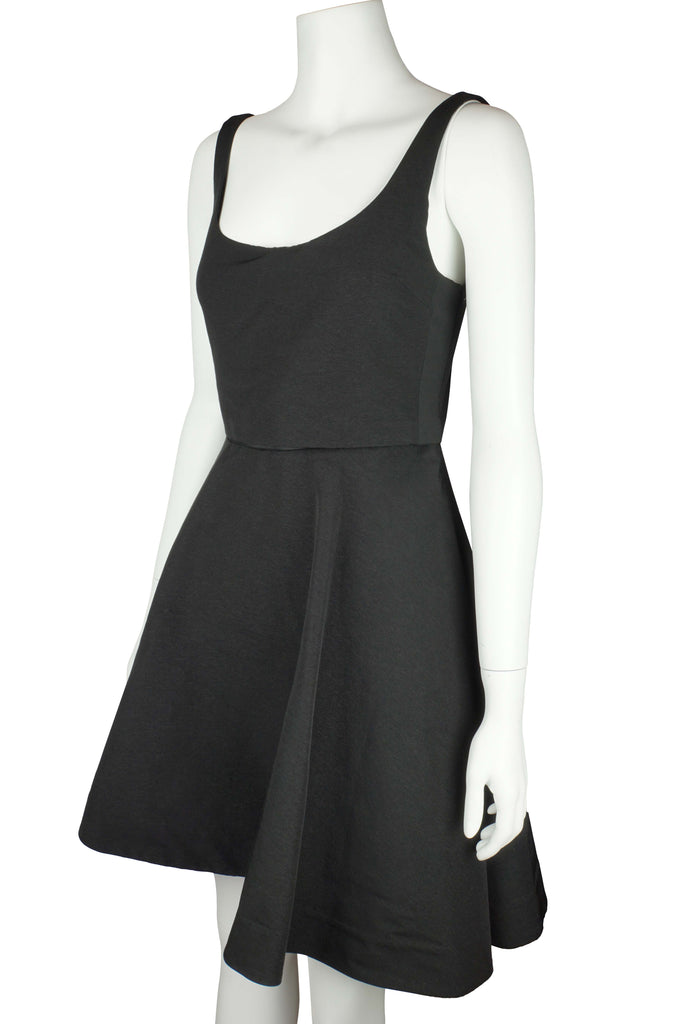 Elizabeth & James Cheri black cut out bodice dress