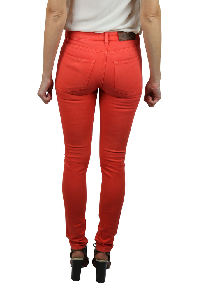 Acne Studios Orange skinny leg jeans