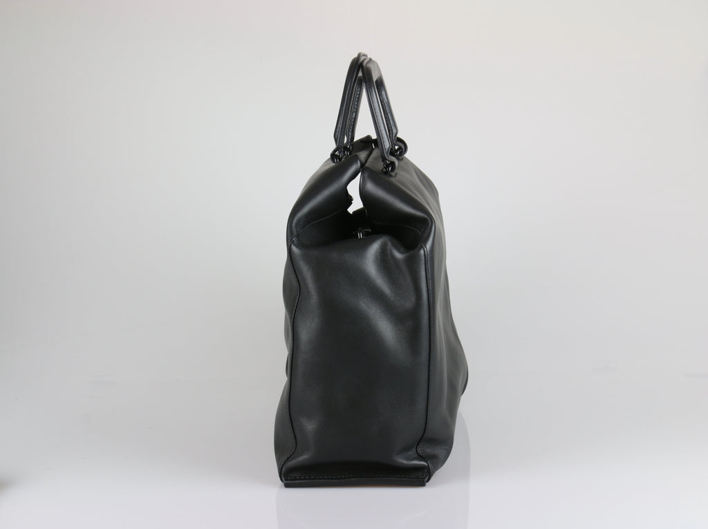 Phillip Lim Wednesday trapezoid black tote