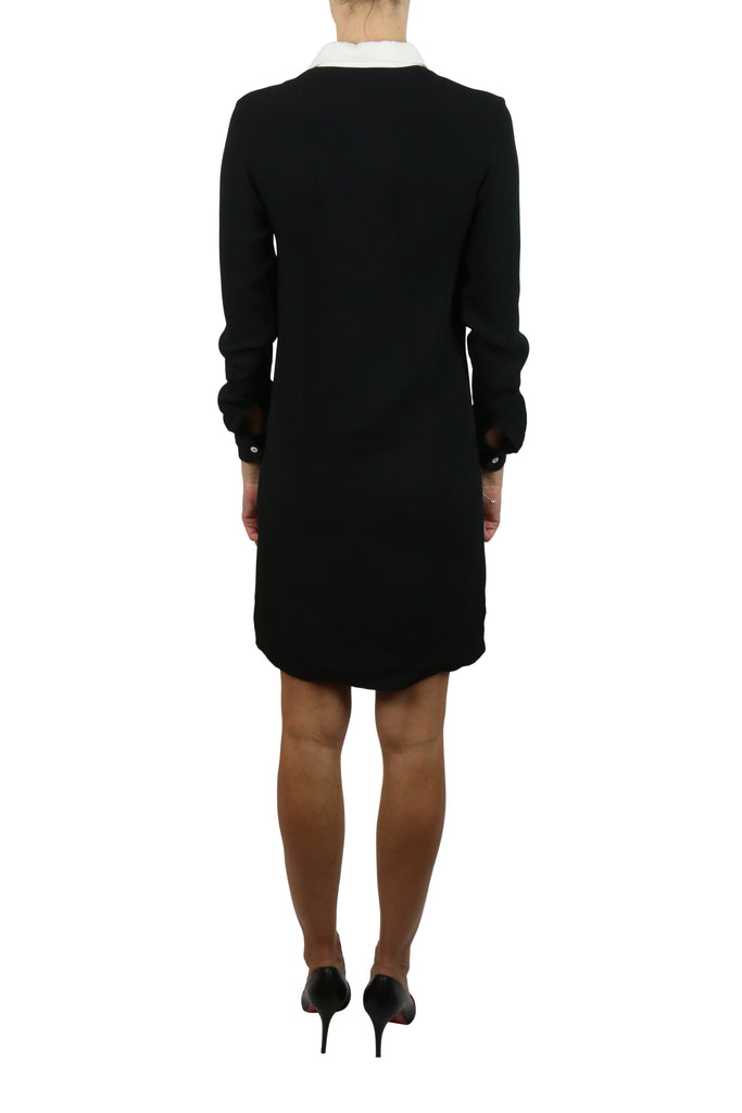 Cote Black and white shirt dress