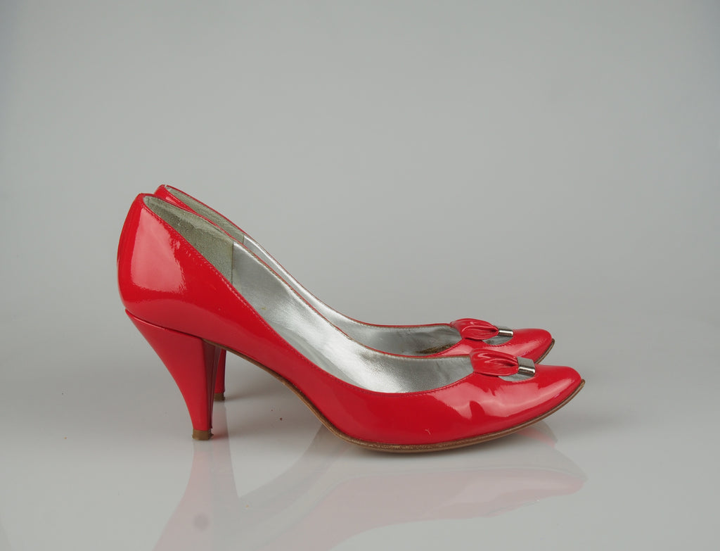 Sigerson Morrison Coral bow heels