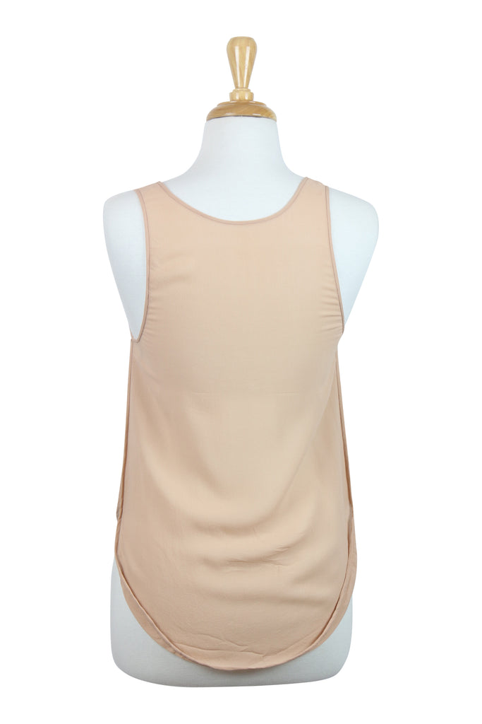 Willow All Occassions nude silk tank top