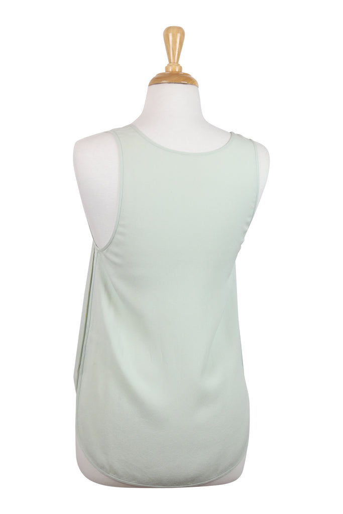 Willow All Occassion mint silk tank top
